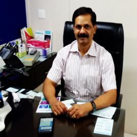 dr. c.b.bangar is a consultant pathologist in medicity hospital kharghar, navi mumbai